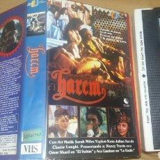 Cine: EL HAREN DEL SULTAN- VHS- JOSE FRADE- 170 MIN- NUNCA EN TC- 1986 HAREN -DIR: BILLY HALE- AVA GADNER. Lote 88810099
