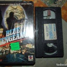 Cine: BLUE VENGEANCE - DAN KUCHUCK - ACCION - RICK WASHBURN , JOHNNY STUMPER - RECORD VISION 1990. Lote 89089388