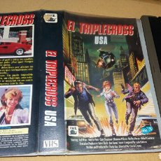 Cine: TRIPLECROSS USA- VHS- DIRECTOR DAVID GREENE. Lote 89381574