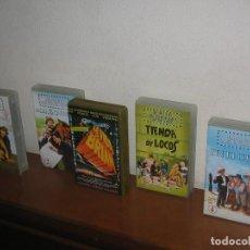 Cine: LOTE 5 PELÍCULAS VHS HERMANOS MARX, MONTY PHYTON. Lote 89476356