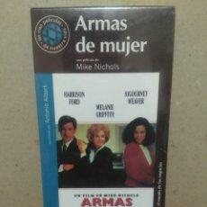 Cine: PELÍCULA VHS, ARMAS DE MUJER. Lote 89611626