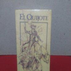 Cine: PELÍCULA VHS, EL QUIJOTE. LOTE 2 CINTAS VHS. Lote 89614052