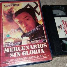 Cine: MERCENARIOS SIN GLORIA- VHS- MICHAEL CAINE. Lote 90120360