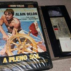 Cine: A PLENO SOL- VHS- ALAIN DELON. Lote 90122542