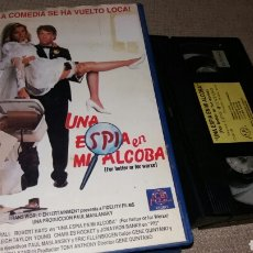 Cinema: UNA ESPIA EN MI ALCOBA- VHS- GENE QUINTANA- NUNCA DVD. Lote 90144035