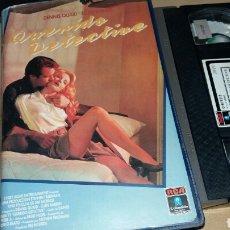 Cine: QUERIDO DETECTIVE- VHS- DENNIS QUAID. Lote 90205614