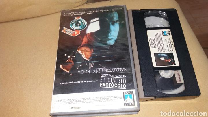 EL CUARTO PROTOCOLO- VHS- MICHAEL CAINE (Cine - Películas - VHS)