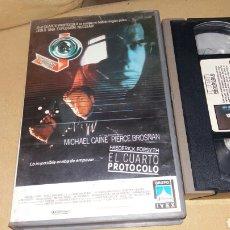 Cine: EL CUARTO PROTOCOLO- VHS- MICHAEL CAINE. Lote 90210119