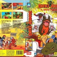 Cine: VHS - DINO RIDERS - DIBUJOS ANIMDOS, ANIMACION. Lote 90682825