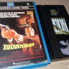 Cine: BRANNIGAN - VHS- 1 EDICION- JOHN WAYNE (2). Lote 90902552