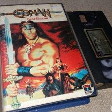 Cine: CONAN EL DESTRUCTOR- VHS- 1 EDICION. Lote 90997682