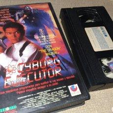 Cine: CYBORG EJECUTOR- VHS- DON DRAGON WILSON- . Lote 91001052