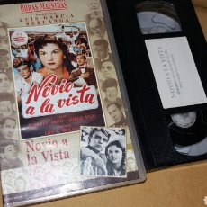 Cinema: NOVIO A LA VISTA- VHS- LUIS GARCIA BERLANGA- OBRAS MAESTRAS DEL CINE. Lote 91956020