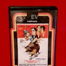 Cine: CELEDONIO Y YO SOMOS ASÍ (1977) - EUROVIDEO 1ª EDIC!. Lote 92254450