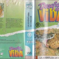 Cine: VÍDEO VHS DESAFÍOS DE LA VIDA (COLECCIÓN ENTERA 35 VHS). BBC. DAVID ATTENBOROUGH. Lote 92304440