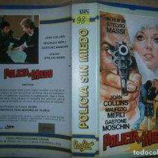 Cine: POLICIA SIN MIEDO-(PELICULA-VHS..COMPRA MINIMA 10€). Lote 92539695