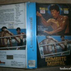 Cine: COMBATE MORTAL-(PELICULA-VHS..COMPRA MINIMA 10€). Lote 92557800