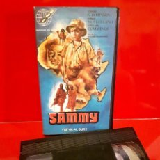Cine: SAMMY - RAREZA VHS AVENTURAS. Lote 93067930