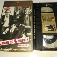 Cine: VHS- CHARLES CHAPLIN CHARLOT 1- JOYAS DEL CINE COMICO VOL.1 (2). Lote 93082377