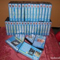 Kino - COLECCIÓN COMPLETA DE 36 PELICULAS VHS DEL MUNDO SUBMARINO POR JACQUES COUSTEAU - 93535765