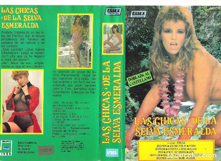Vhs Las Chicas De La Selva Esmeralda Erica Boyer 0 Cine