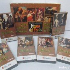 Cine: LAS COLECCIONES DEL MUSEO DEL PRADO. GOYA, MURILLO, RUBENS, EL GRECO, RIBERA, ZURBARAN. VIDEOS VHS. Lote 94168610