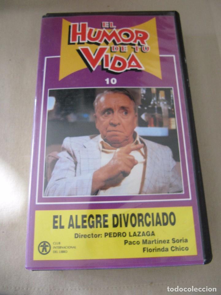 VHS VIDEO EL ALEGRE DIVORCIADO PACO MARTÍNEZ SORIA FLORINDA CHICO NORMA LAZARENO JOSÉ ÁNGEL ES (Cine - Películas - VHS)