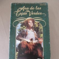 Cine: VHS VIDEO ANA DE LAS TEJAS VERDES SERIE TV MEGAN FOLLOWS, COLLEEN DEWHURST, RICHARD FARNSWORTH,. Lote 94426674
