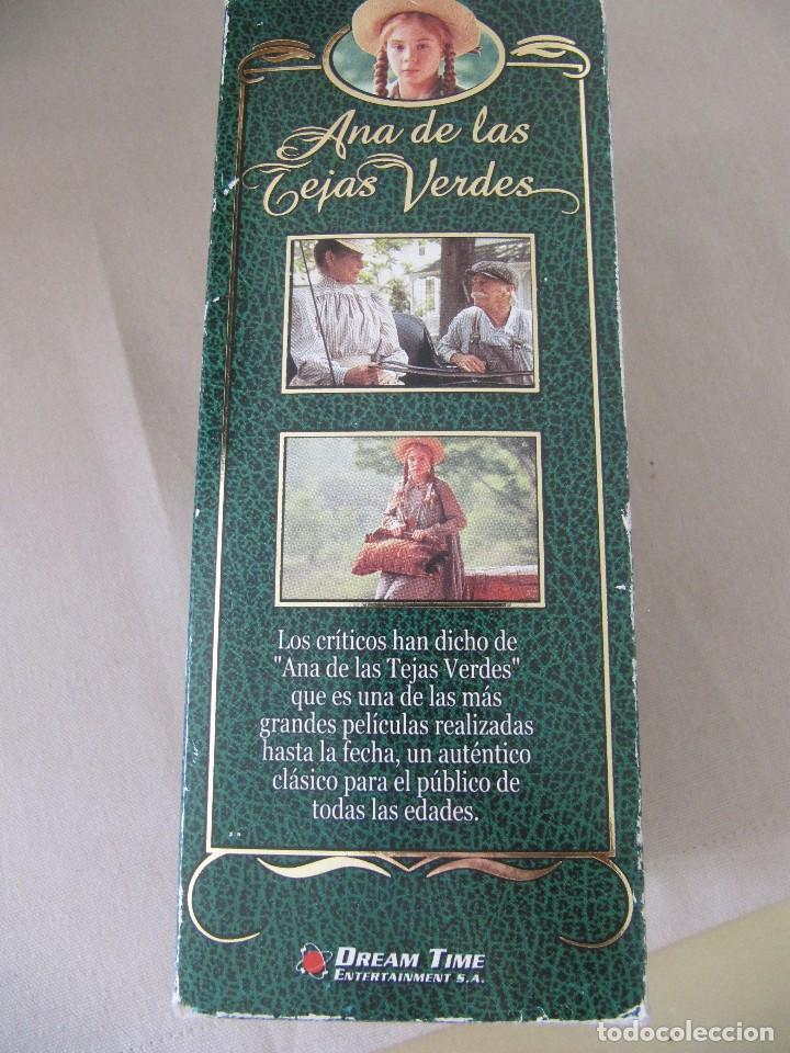 Cine: VHS VIDEO ANA DE LAS TEJAS VERDES SERIE TV Megan Follows, Colleen Dewhurst, Richard Farnsworth, - Foto 2 - 94426674