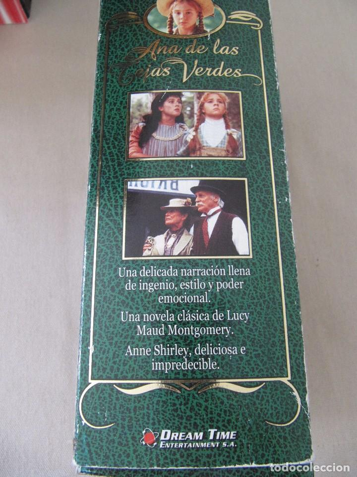 Cine: VHS VIDEO ANA DE LAS TEJAS VERDES SERIE TV Megan Follows, Colleen Dewhurst, Richard Farnsworth, - Foto 4 - 94426674