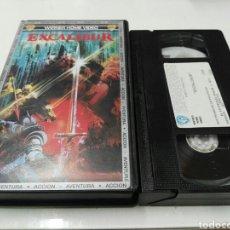 Cine: VHS- EXCALIBUR- JOHN BOORMAN (2). Lote 133299313