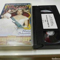 Cine: VHS- LOS JOVENES AÑOS DE UNA REINA SISSI- ROMY SCHNEIDER. Lote 94439459