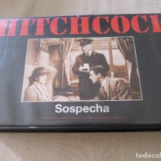 Cine: VHS VIDEO ALFRED HITCHCOCK SOSPECHA CARY GRANT JOAN FONTAINE. Lote 94524594