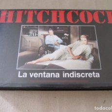 Cine: VHS VIDEO ALFRED HITCHCOCK LA VENTANA INDISCRETA GRACE KELLY JAMES STEWART. Lote 94525502