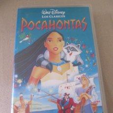 Cine: WALT DISNEY VIDEO VHS POCAHONTAS . Lote 94537030