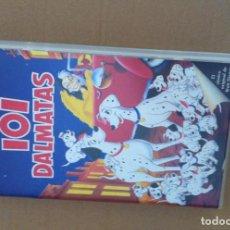 Cine: 101 DALMATAS DISNEY (VHS PELICULA ORIGINAL) CINTA KREATEN. Lote 94628831