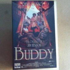 Cine: BUDDY PELICULA VHS ORIGINAL CINTA KREATEN. Lote 94629663