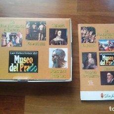 Cine: LAS COLECCIONES DEL MUSEO DEL PRADO 6 VHS + 6 FASCICULOS .NUEVO. Lote 94932451