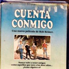 Cine: CUENTA CONMIGO (1986) VHS STEPHEN KING - ROB REINER - 1ª EDICIÓN. Lote 90066420