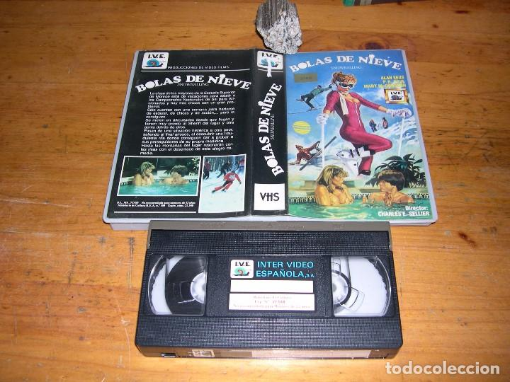 VHS BOLAS DE NIEVE (Cine - Películas - VHS)