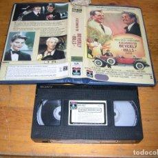 Cine: ASESINATO EN BEVERLY HILLS VHS. Lote 95476943