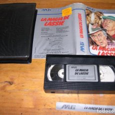 Cine: VHS LA MAGIA DE LASSIE. Lote 95516639
