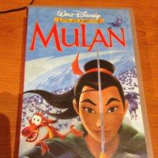 Cine: VHS WALT DISNEY MULAN. Lote 95565695