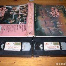 Cine: VHS LOS CRIMENES DE ATLANTA - CAJA ESPECIAL DOBLE CINTA. Lote 95597731