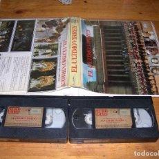 Cine: VHS EL ULTIMO VIRREY - CAJA ESPECIAL DOBLE CINTA. Lote 95597899