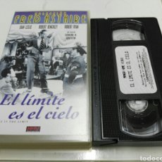 Cine: VHS- EL LIMITE ES EL CIELO- FRED ASTAIRE JOAN LESLIE. Lote 95601626