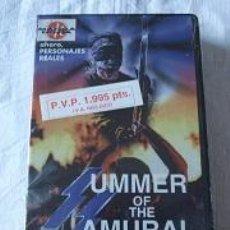 Cine: VHS SUMMER OF THE SAMURAI PRECINTADA. Lote 95730183