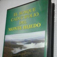 Cine: EL BOSQUE CADUCIFOLIO DEL MONTE HIJEDO.VHS. Lote 95762915