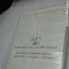 Cine: CONGRESO DE LOS DIPUTADOS.20 AÑOS.VHS. Lote 95763056