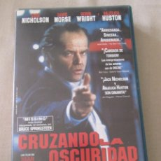 Cine: VHS VIDEO CRUZANDO LA OSCURIDAD JACK NICHOLSON DAVID MORSE ANJELICA HUSTON ROBIN WRIGHT SEAN PENN. Lote 95863399